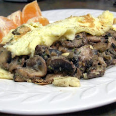 Omelette With Mushrooms for One