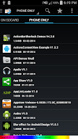 Screenshot of App2sd card(Move App to sd)