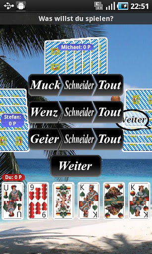 MUCKEN - CARD GAME - screenshot