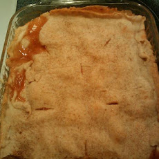 Grandpa Roy's Fresh Peach Cobbler