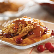 Apple Cranberry Peanut Butter Crisp