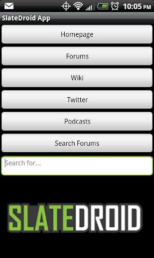 Slatedroid App Legacy