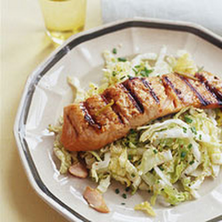 cilantro sesame chicken with cabbage and red grapefruit sauce sesame ...