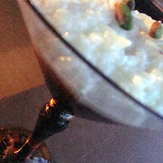 Rose Cardamom Rice Pudding