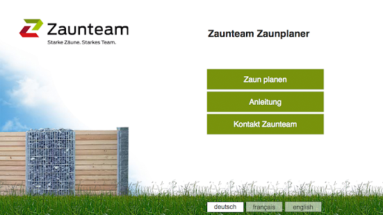 Zaunteam fence planner