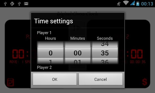 Digital Chess Clock - screenshot