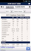 Screenshot of NFL by StatSheet