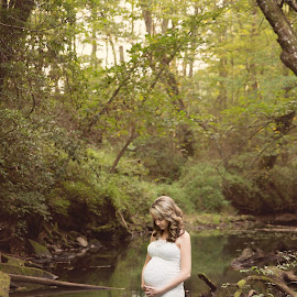 I loved you, before I met you by Laci Brewer - People Maternity ( water, love, maternity, home, ladybrewphotography, mother, beautiful, tennessee, reflections, people )