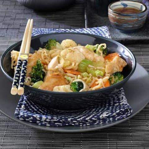 Teriyaki Ramen Noodle Stir Fry Recipes | Yummly
