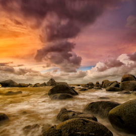 Almost Storm by Pimpin Nagawan - Landscapes Waterscapes