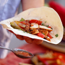 Mixed Fajitas with Peppers and Onions