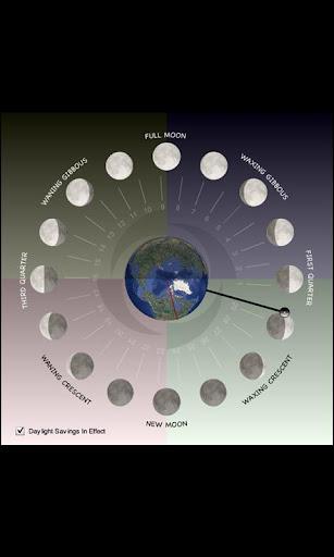 玩免費天氣APP|下載Lunar Phase Clock app不用錢|硬是要APP