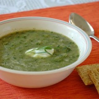 Lettuce and Tarragon Soup