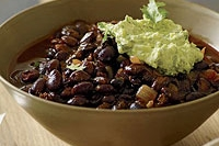 Easy and Delicious Ancho-Black Bean Chili Recipe by Makeeze Recipes