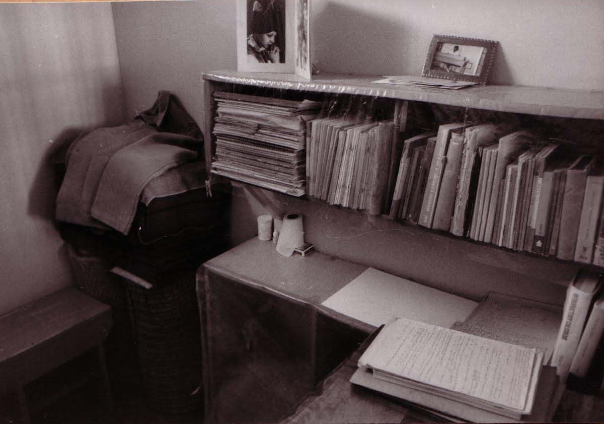 CELLULE DE NELSON MANDELA - PREMIÈRE PHOTO (vers 1971)