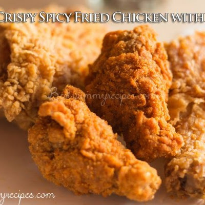 Extra-Crispy Spicy Fried Chicken with Popeye