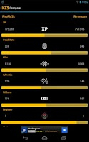 Screenshot of Killzone 3 stats