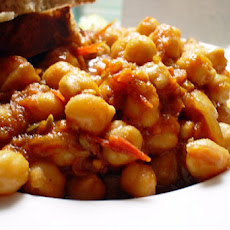 Moosewood Chickpea and Artichoke Heart Stew