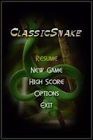 Screenshot of Classic Snake II