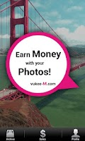 Screenshot of vukee M–Make Money Take Photos
