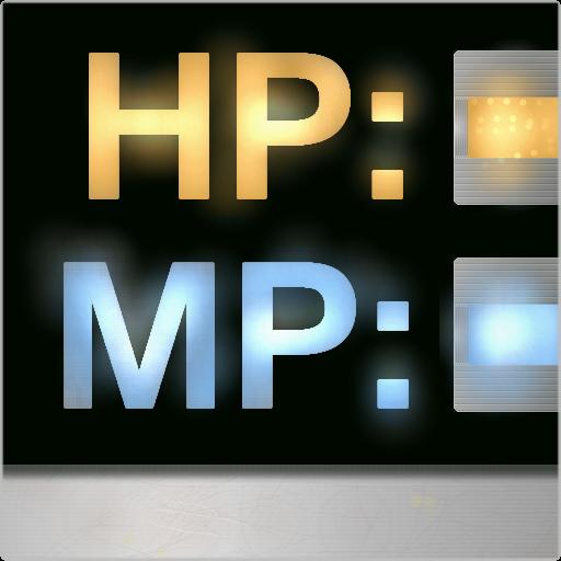 HP/MPメータ(バッテリ・電波) 工具 App LOGO-硬是要APP