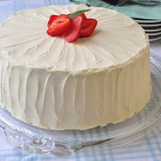 Strawberry Vanilla Butter Cake