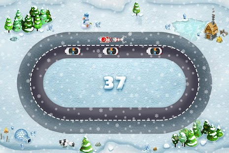 Xmas Race - screenshot