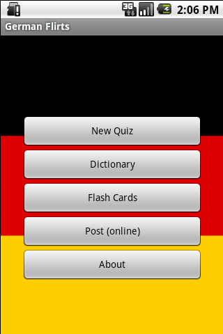 German Flirt Generator Quiz