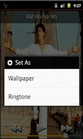 Screenshot of Shahrukh Khan Ringtones