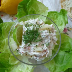 Smoked Salmon Spread With Pears and Horseradish