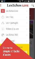 Screenshot of Les Echos Live - Actualités