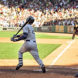 Jeter's Last Series by Michael Last - Sports & Fitness Baseball ( derek jeter, red sox, boston, baseball, fenway park, sports, jeter, yankees, mlb )