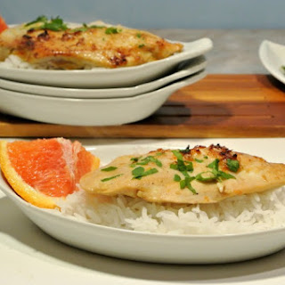 Baked Orange Chicken Breasts