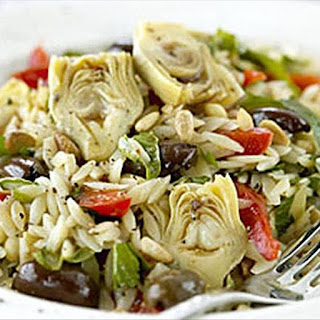 Risoni Salad with Italian Flavours