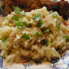 Zesty Spanish Rice Low Fat