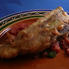 Beer Battered Chiles Rellenos With Warm Chipotle Salsa