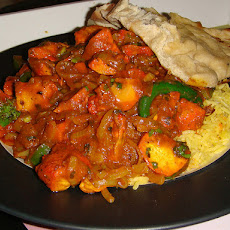 Chicken and Raisin Balti