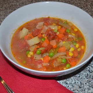 Warming Vegetable Soup
