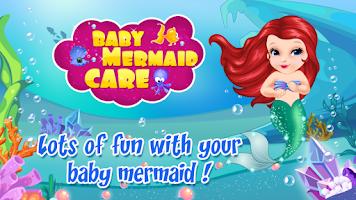 Screenshot of Baby Mermaid Care