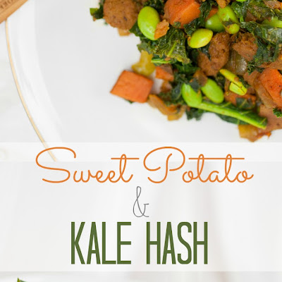 Savory Sweet Potato and Kale Hash