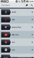 Screenshot of mijnTVgids