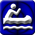 Kayaking GPS icon