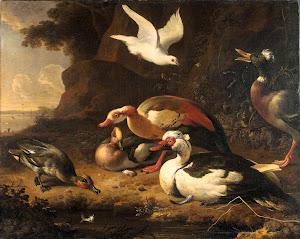 RIJKS: Melchior d' Hondecoeter: painting 1680