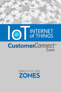 Zones 2015 IoT CustomerConnect - screenshot