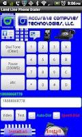 Screenshot of Land Line Phone Dialer