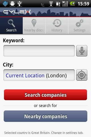 Cylex local search