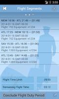 Screenshot of ALPA Part 117 Calc. & Guide
