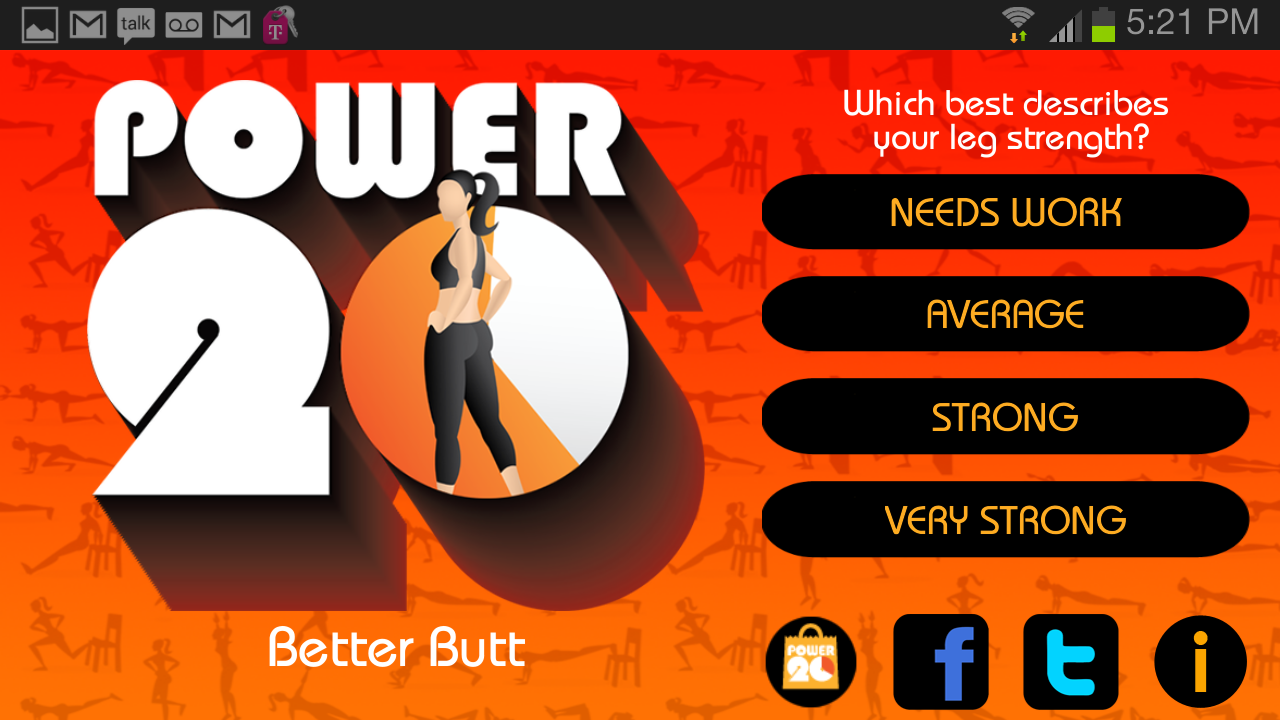 20 Minute Butt Workouts Screenshot 0