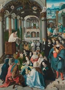 RIJKS: Aertgen Claesz. van Leyden: The Calling of Saint Anthony 1530