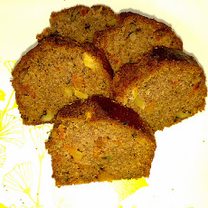 Apricot Walnut Tea Bread